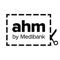Central coast massage clinic link with Health fund provider AHM logo