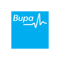 Central coast massage clinic link with Health fund provider Bupa logo