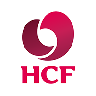 Central coast massage clinic link with Health fund provider HCF logo